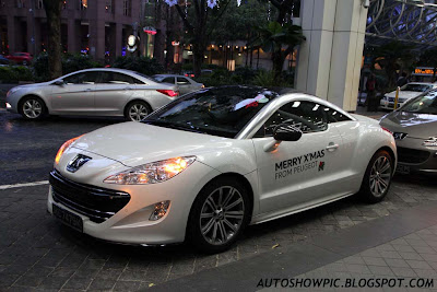 Merry Christmas from Peugeot RCZ