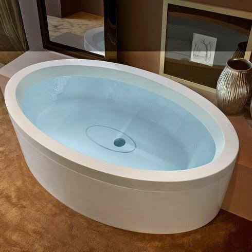 Vasca da bagno rotonda rotonda vasca da bagno with vasca - Vasche da bagno ovali ...