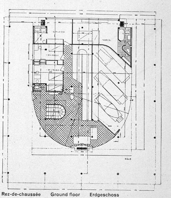 Origins Of Modern House on Villa Savoye Floor Plans