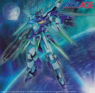 Gundam AGE OP4 Single - AURORA