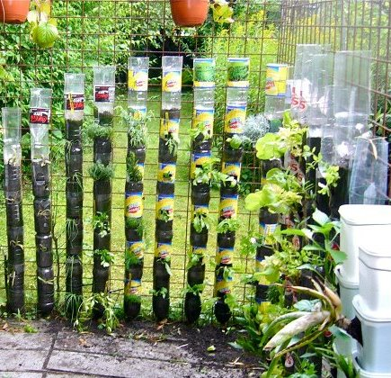 originales jardines en vertical y en horizontal jardines
