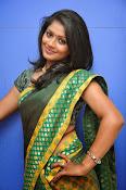 glamorous Anu Sri saree photos-thumbnail-18
