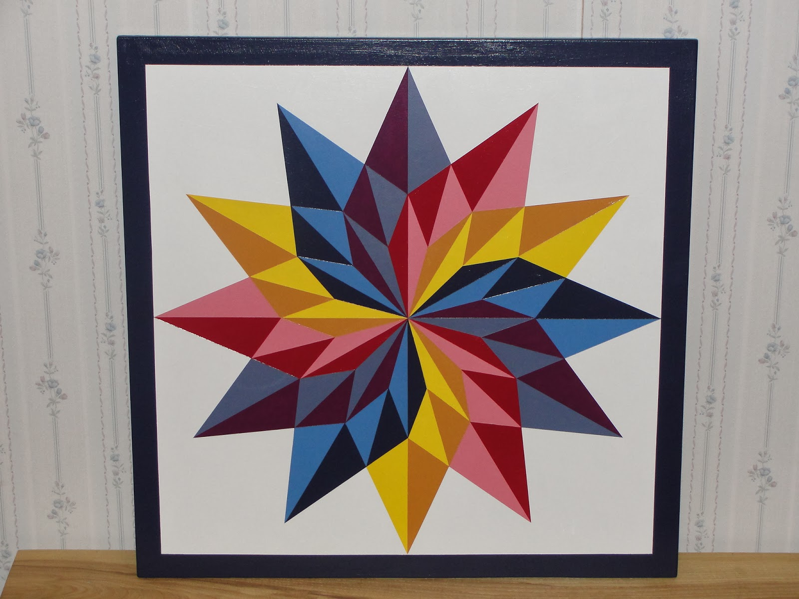 It's just a photo of Lively Printable Barn Quilt Patterns