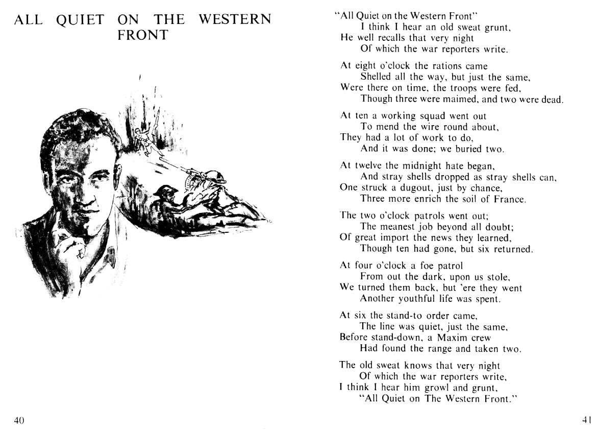 All quiet on the western front essay lost generation