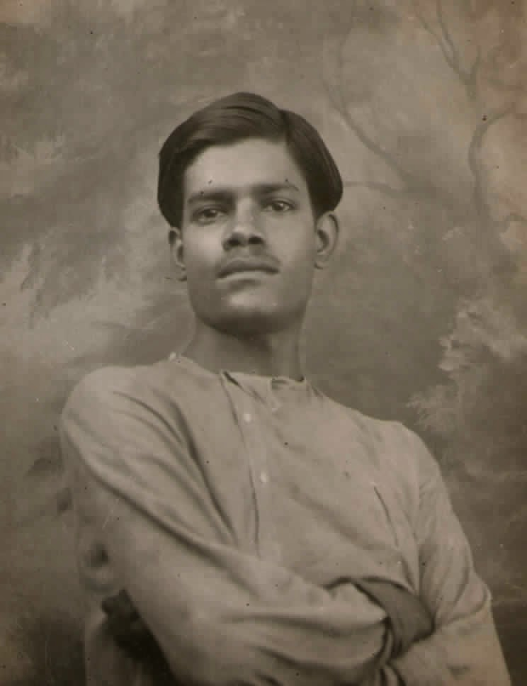 Lakshminarayan's third son Ranjit. Photo shot in Lahore