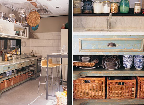 Inspira o cozinhas campestres janela contempor nea for Sillones de cocina