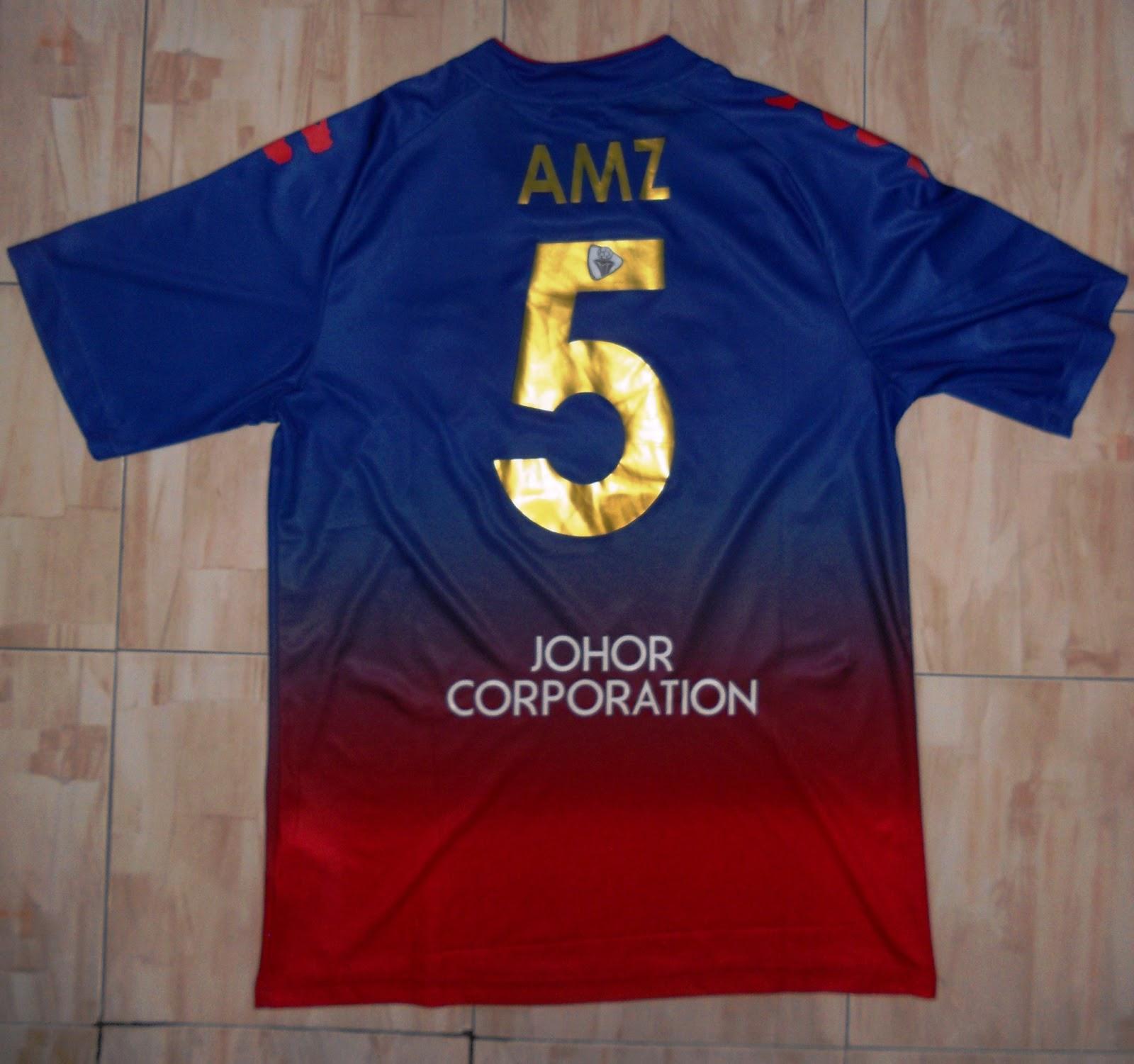 Gambar] Jual Jersi Johor Darul Takzim FC dan Johor FA 2013