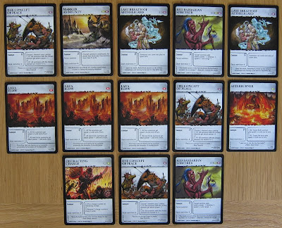 ExistenZ: On The Ruins of Chaos - The Red Barbarian Brotherhood Catalyst cards