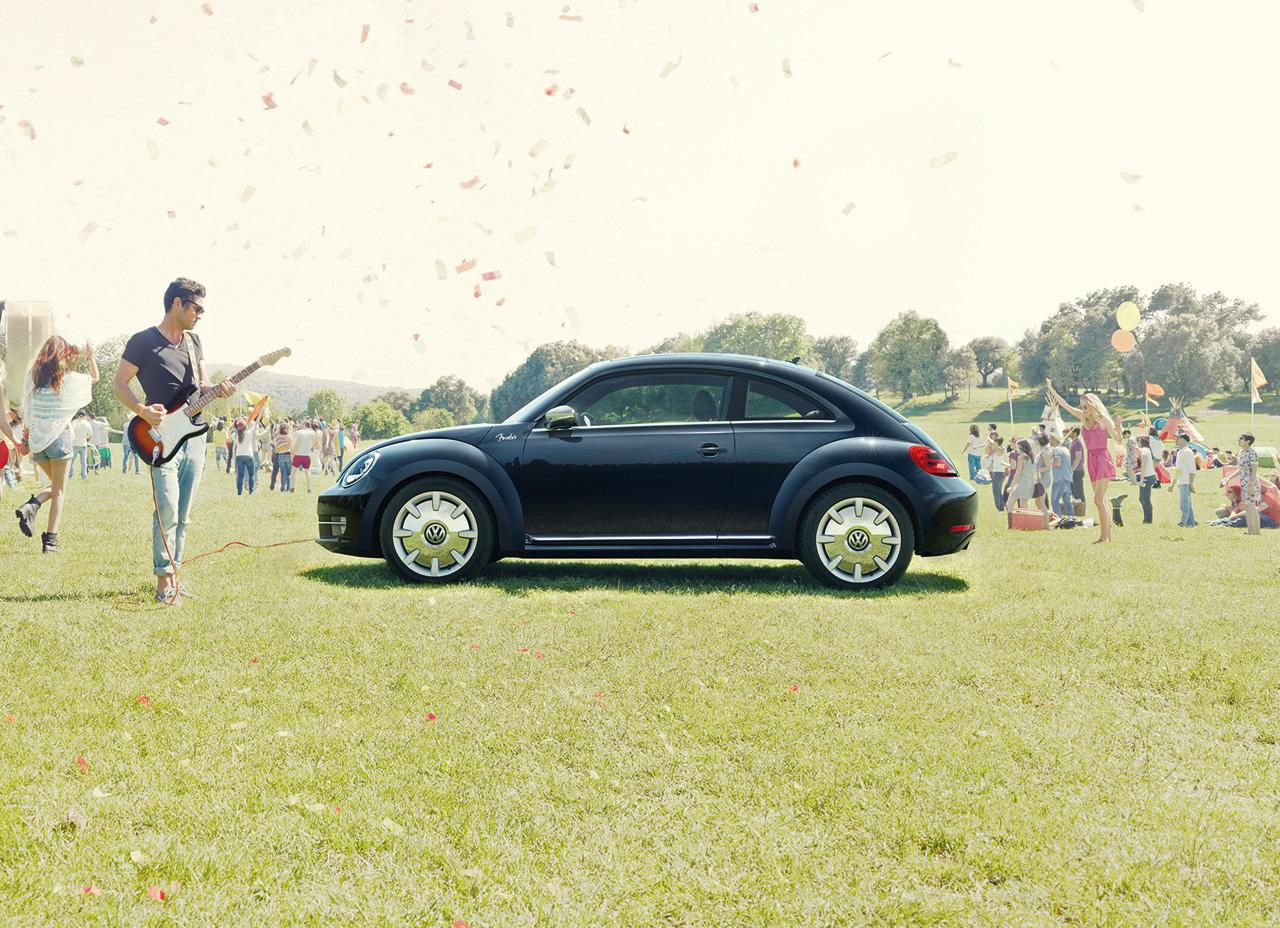 Volkswagen Beetle Fender Edition. Versiu00f3n especial del mu00edtico ...