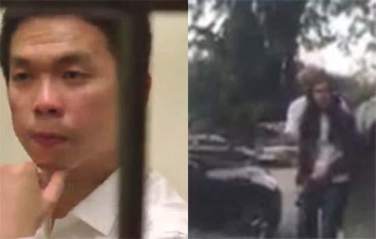 Shasha stereng lock dan lelaki langgar keretanya didakwa di mahkamah