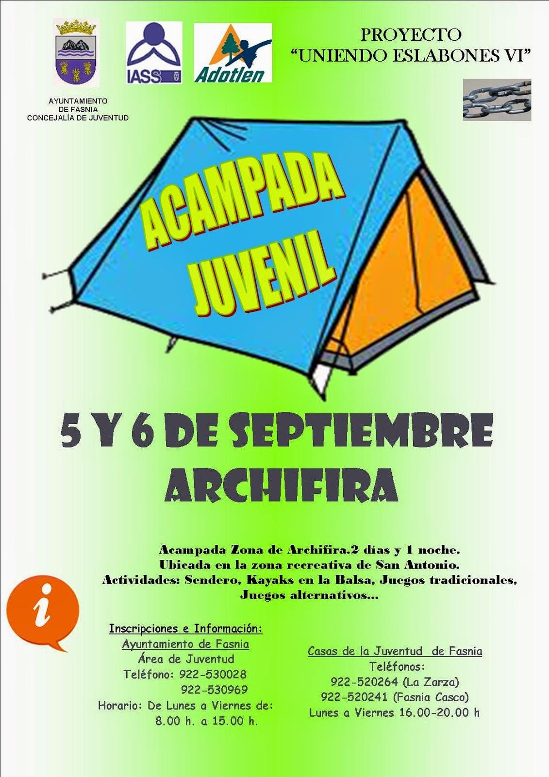 ACAMPADA JUVENIL