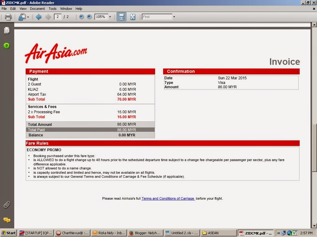 tips berburu tiket promo air asia