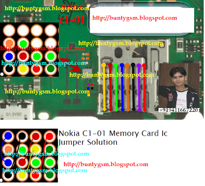 Nokia C1-01 Mmc Ic Jumper Solution By BuntyGSM / IMET ~ IMET Mobile