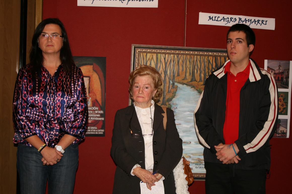 Exposición en Almássera, 2012