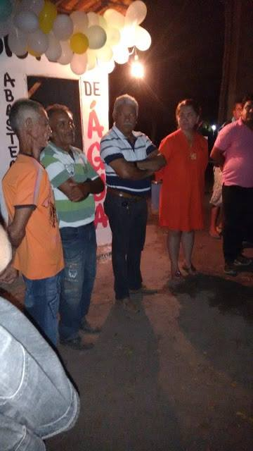 Prefeita Luíza Rocha entrega Poço Artesiano no Povoado Bacalhau