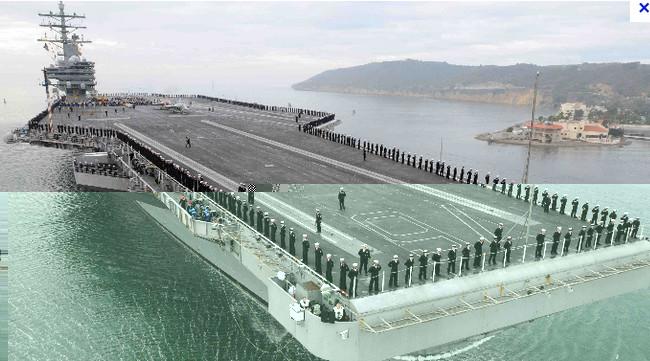 10 Kapal Induk Besar Milik Amerika (U.S.A)
