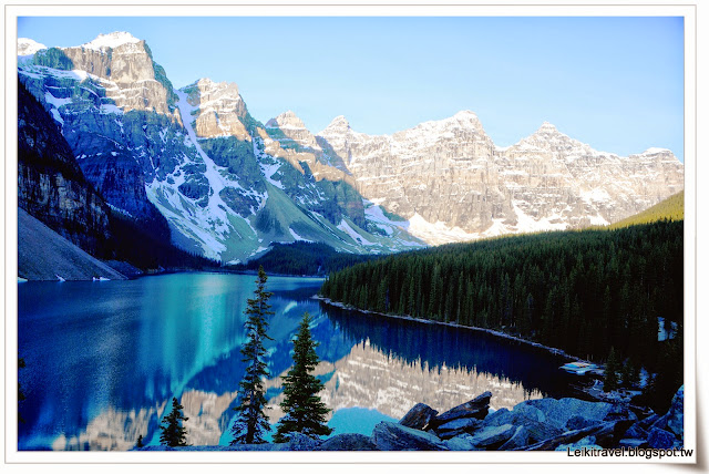 Moraine Lake 夢蓮湖  加拿大