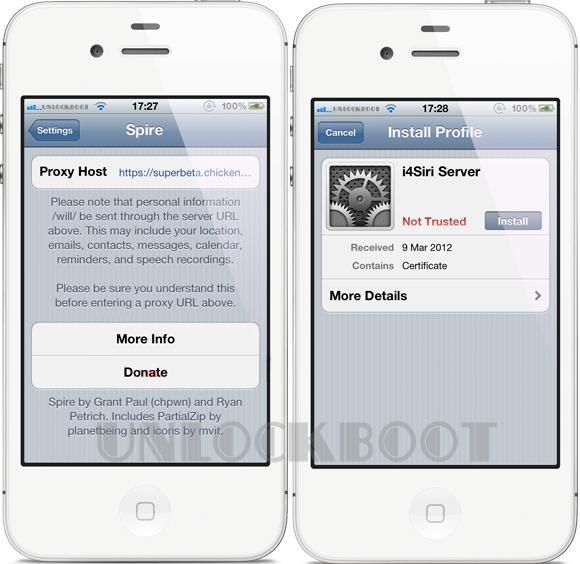 Download Siri On iPhone 4