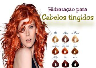 hidratação profunda para cabelos tingidos