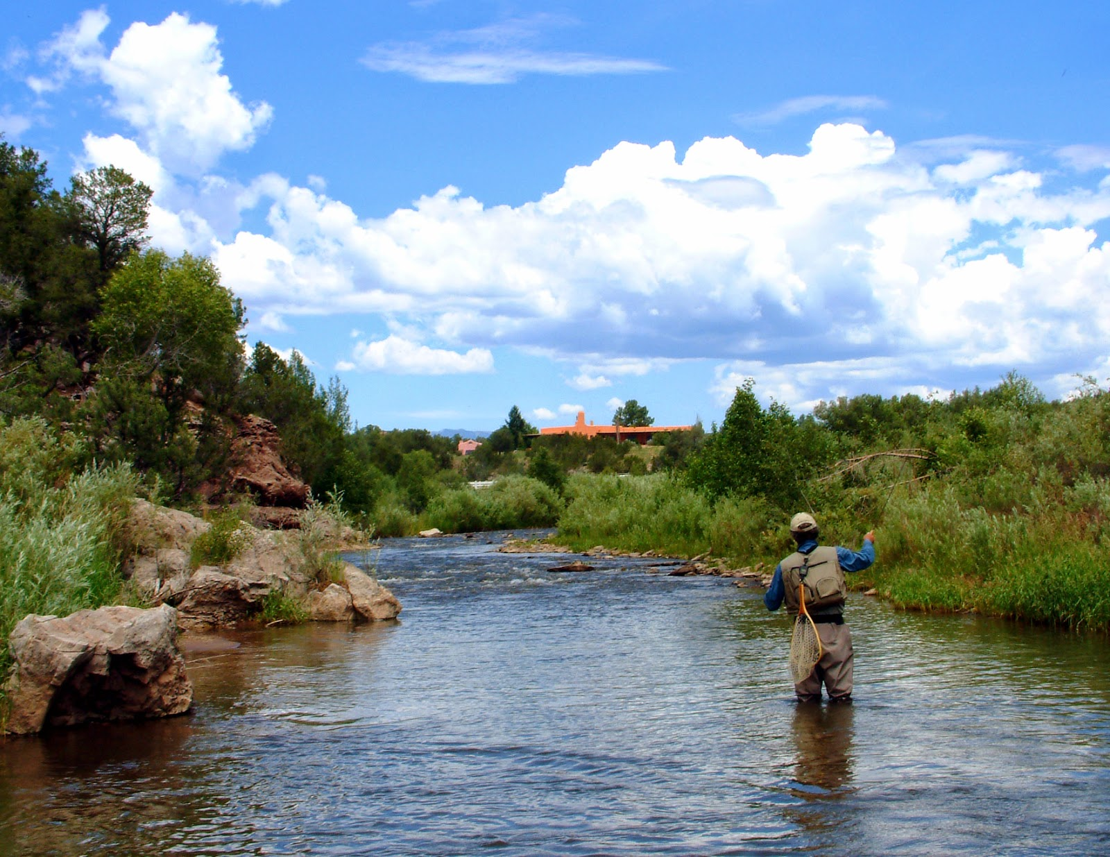 Outdoors nm pecos river on the mend latest fish count shows for Pecos river fishing
