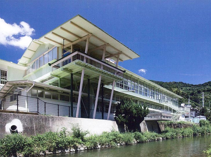 WMF Modernism Prize Awarded to Architectural Consortium | Hizuchi Elementary School, Yawatahama, Ehime