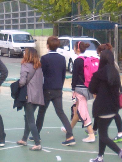leeteuk and kang sora secretly dating