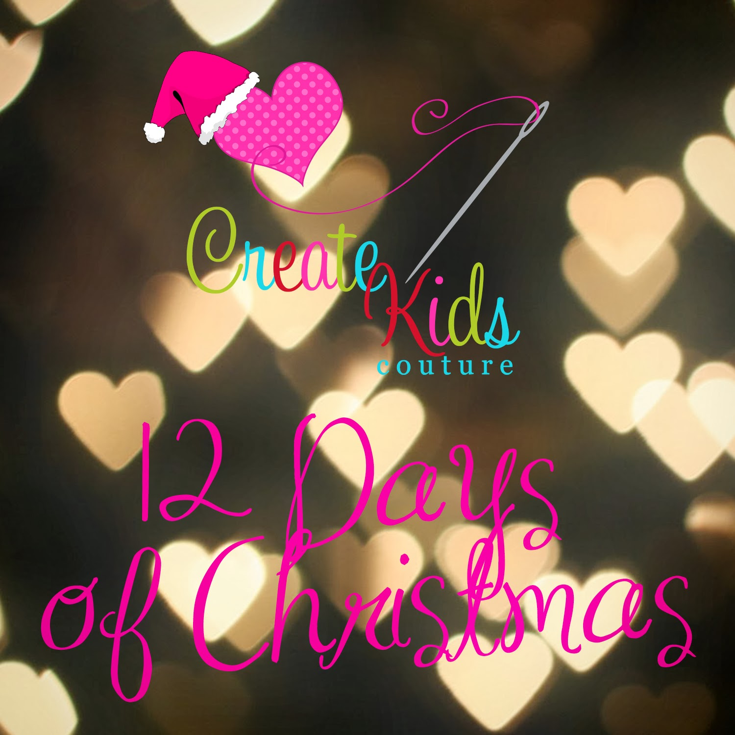 Create Kids Couture: Ninth Day of Christmas: Scrappy Banner