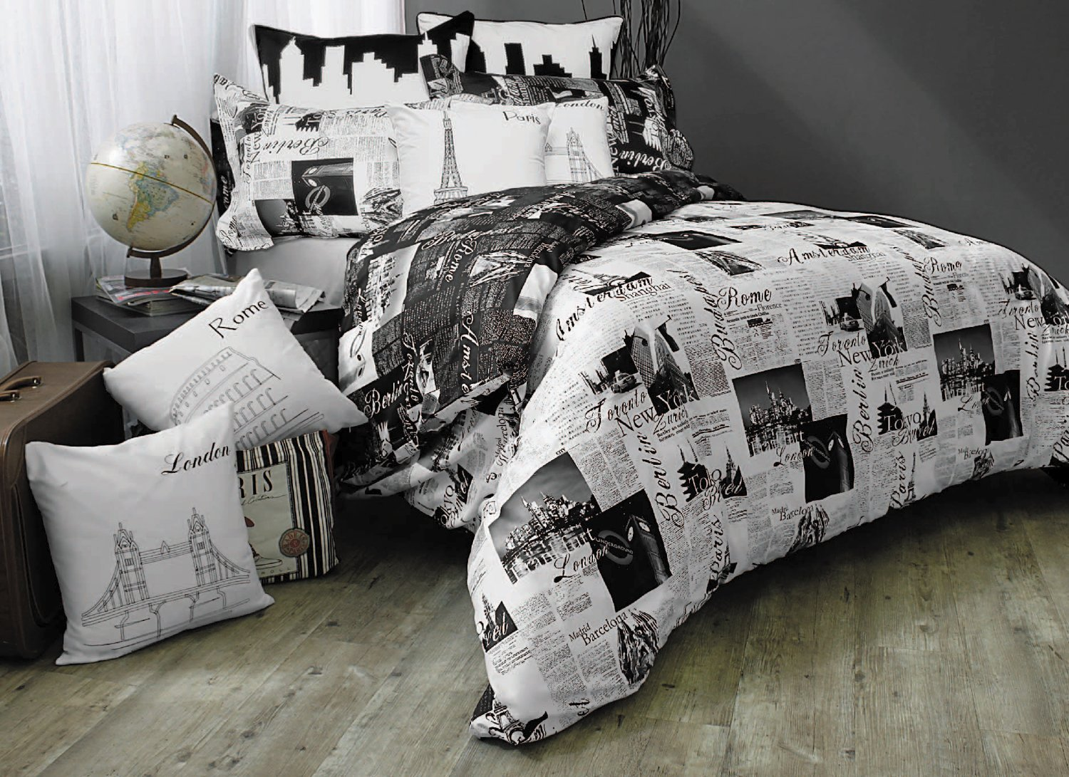 total fab paris london new york bedding a world of big city dreams