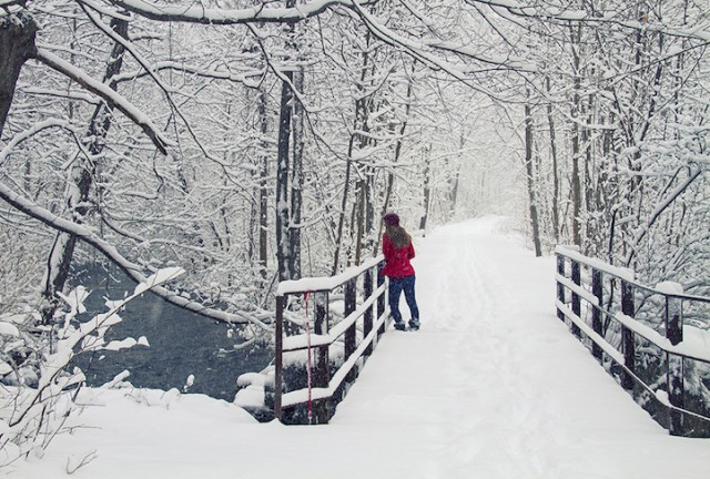 Long Bridge, Skaneateles, New York - 19 Breathtaking Photos Of Winter Wonderlands Around The World