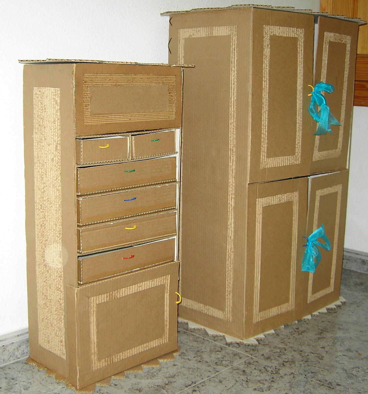 Como hacer un mueble para bebe de carton for Como fabricar un armario