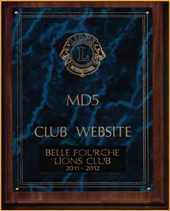 <i>CLUB CAPTURES WEB AWARD!</i>