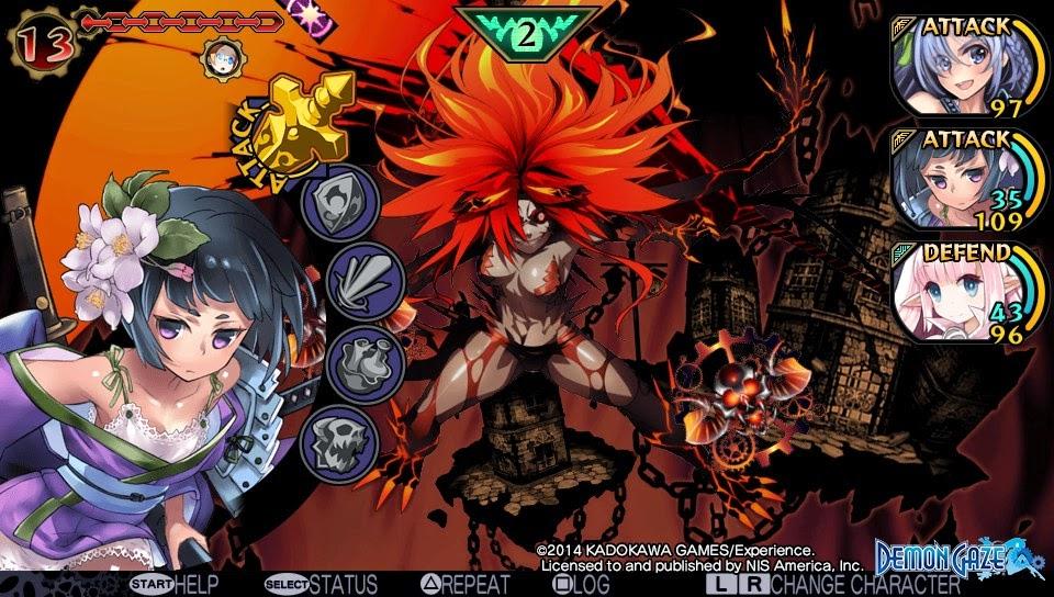 Demon Gaze NISA