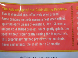 Cold-Milled Flax Seed