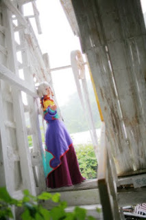 Code Geass 天子 cosplay by Kousaka Yun