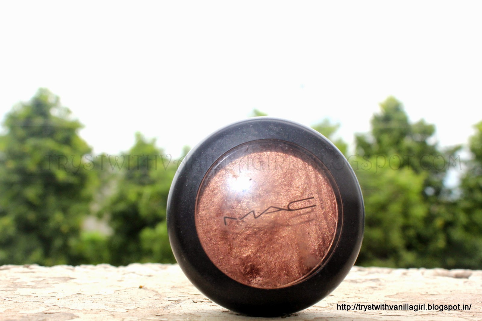 MAC Metall X Cream EyeShadow Rusty