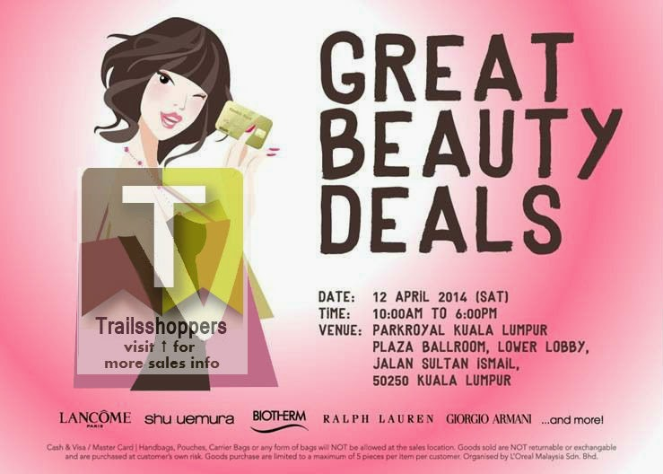 Loreal Great Beauty Deals Kuala Lumpur Malaysia