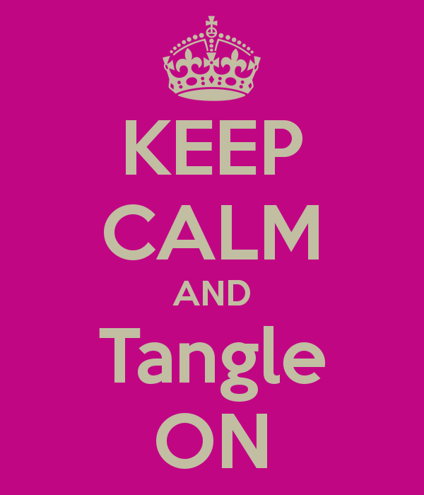 Keep Calm and Tangle On