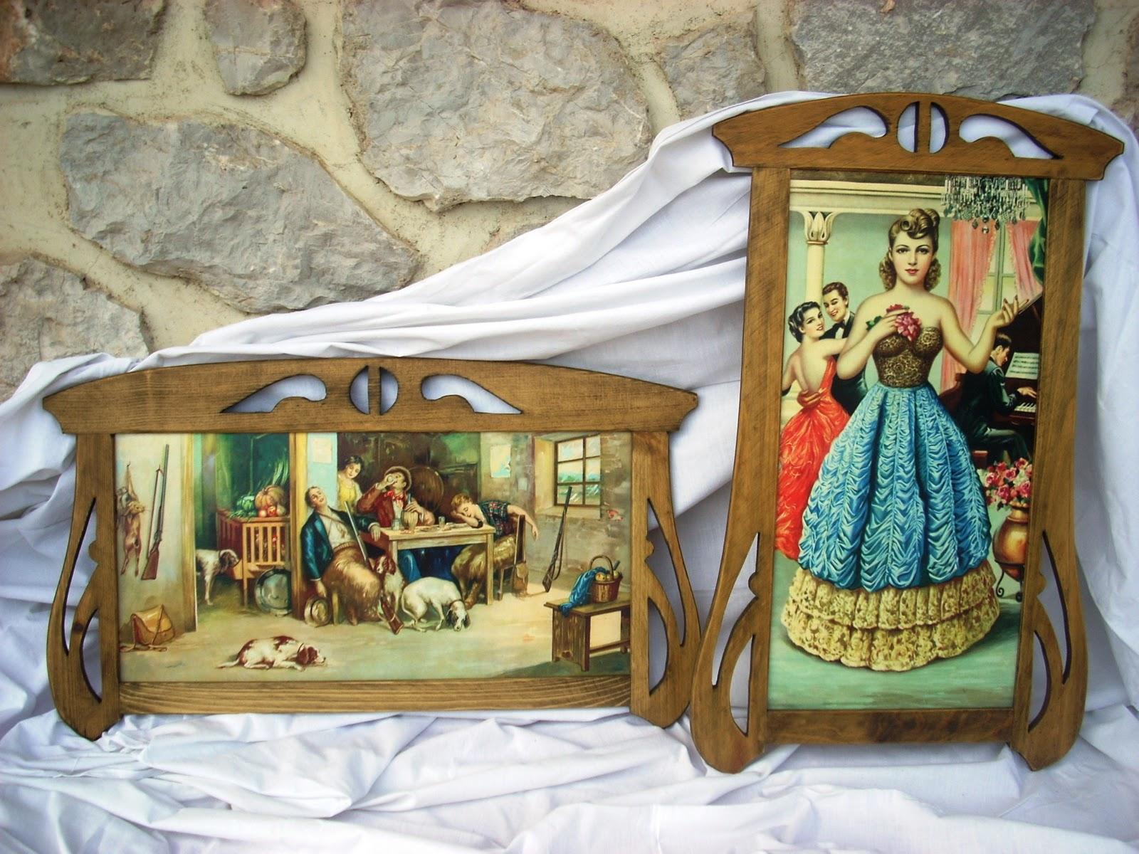 Artesanía con madera: marcos y cuadros