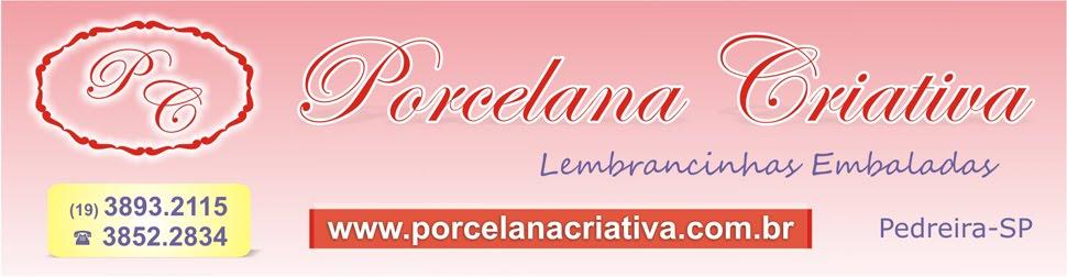 Porcelana Criativa - Lembrancinhas embaladas - Pedreira - SP (19) 3893.2115 / 3852.2834
