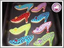 High Heel shoes cookies