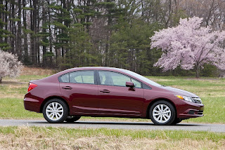 2012 Honda Civic Lineup Debut in NYIAS