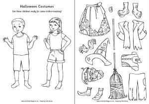Disegni Da Colorare Attivita In Inglese Su Halloween E Disegni Da