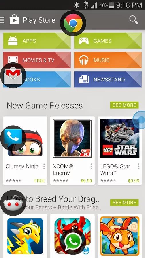 La aplicación Slide para Android en tablet y smartphones