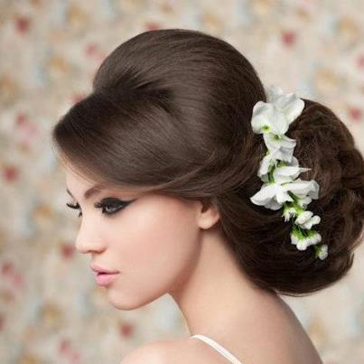 bridal makeup smokey eye brown