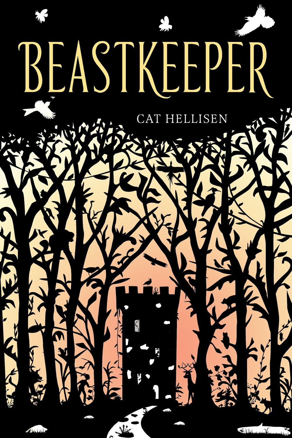 beastkeeper by cat hellisen book cover