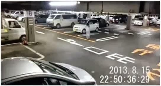 HANTU TUMPANG DI RAKAM CCTV