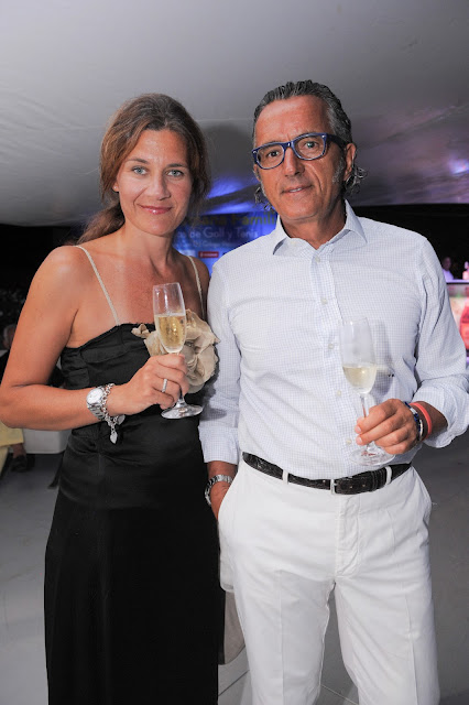 Ylenia Pippo and Virginio Maccarone