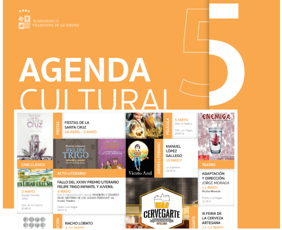 Agenda Cultural Mayo 2018