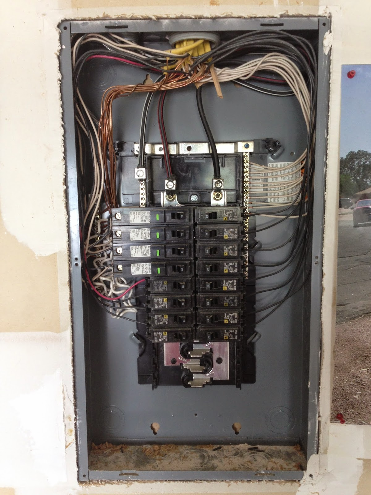 Top Right Main Electric Panel Wiring - Electrical Work Wiring Diagram •
