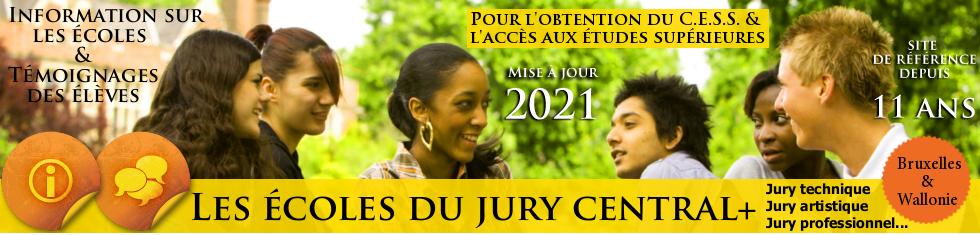 ÉCOLES JURY CENTRAL / TECHNIQUE / PROFESSIONNEL - CESS